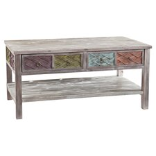 Denison Coffee Table in White Wash