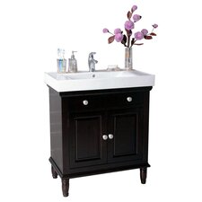 "Georgia 30"" Vanity in Dark Brown"