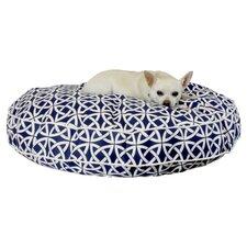 Snoozer Dublin Indoor/Outdoor Round Pet Bed in Navy