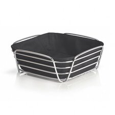 Delara Bread Basket in Black