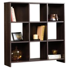 Cubby Storage Bookcase in Espresso