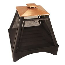 Pagoda Fire Pit in Copper