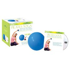 Body Sculpting Ball & Workout DVD Set