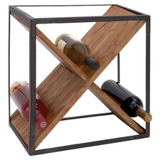 Cube Wine Bottle Rack in Natural
