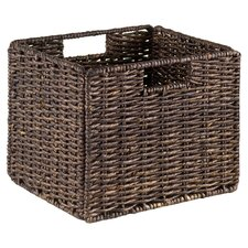 Granville Storage Basket in Chocolate