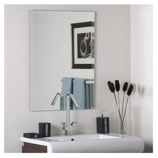 Leona Frameless Mirror