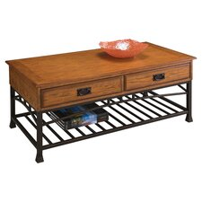 Modern Craftsman Coffee Table in Oak