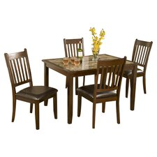 Capitola 5 Piece Dining Set in Espresso