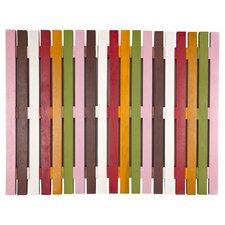 Exotic Bell Wood Doormat