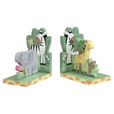 Sunny Safari Bookend in Green