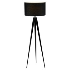 Director Floor Lamp in Black