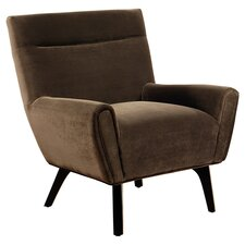 Marquis Arm Chair in Dark Brown