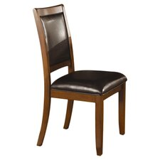 Swanville Side Chair in Brown Walnut