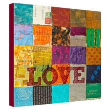 Elizabeth St. Hilaire Nelson Patchwork Love Canvas Wall Art