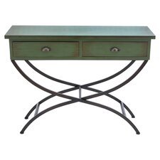 Samuli Console Table in Green