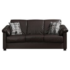Renu Convertible Sofa in Coffee Brown