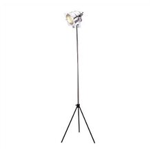 Spotlight Floor Lamp in Chrome