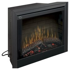"39"" Built-in Electric Firebox in Black"