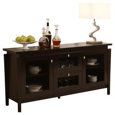 Nadia Console Table in Cappuccino