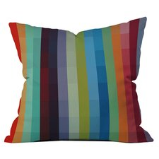 Madart Striped Throw Pillow