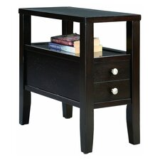 End Table in Dark Espresso