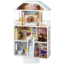Savannah Dollhouse Set in White