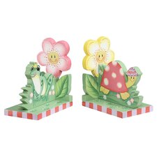 Magic Garden Book Ends in Pink