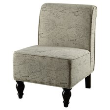 French Side Chair in Light Grey