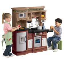 Gourmet Prep'n Serve Kitchen Play Set in Brown