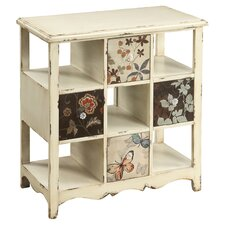 Bennet 4 Drawer Accent Chest in Cream & Brown