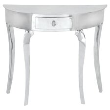 Glorioso Console Table in Silver