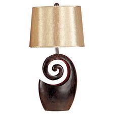 Janae Table Lamp in Dark Brown