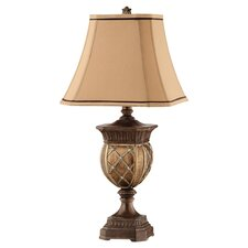 Granby Resin Table Lamp in Gold & Bronze