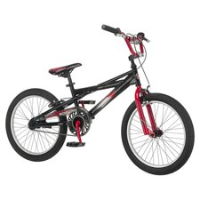Throttle Mountain Bike in Black & Red