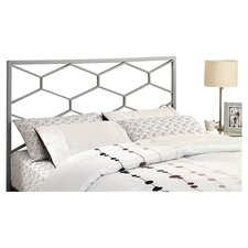 Metal Full / Queen Headboard in Silver