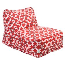 Links Bean Bag Lounger in Red