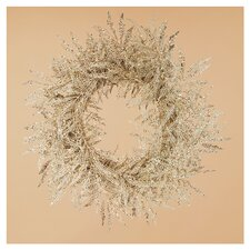 "20"" Lace Leaf Wreath"