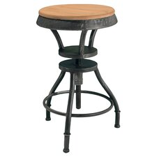 Lucian Adjustable Barstool in Fir