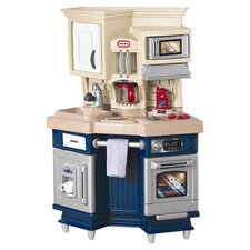 Role Play Super Chef Kitchen Set in Blue