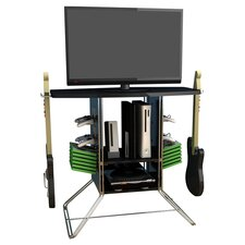"Centipede 37"" TV Stand in Black"