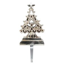 Tree Stocking Holder in Silver