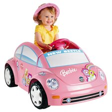 Barbie Volkswagen Beetle Ride On in Pink