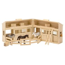 Fold & Go Mini Stable in Natural