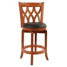 "Cathedral 24"" Counter Stool in Light Cherry"