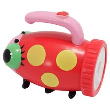 Mollie Ladybug Flashlight in Red