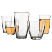 Maya 16 Piece Drinkware Set