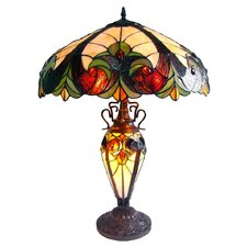 Tiffany Table Lamp in Copper