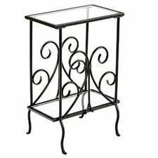 Weber End Table in Black