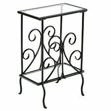 Weber End Table in Black