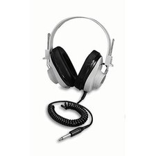 Monaural 5 Coiled Cord Headphone